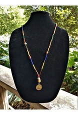 Necklace - Calliope Gourde Multicolor