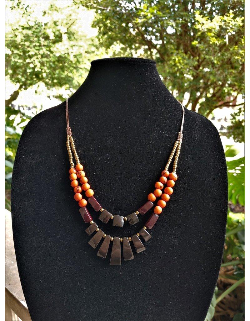 Necklace - Calor Warm