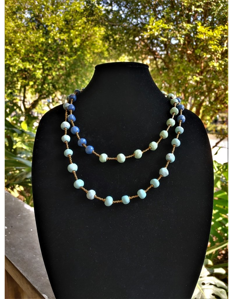Necklace - Ombre Blue Ocean