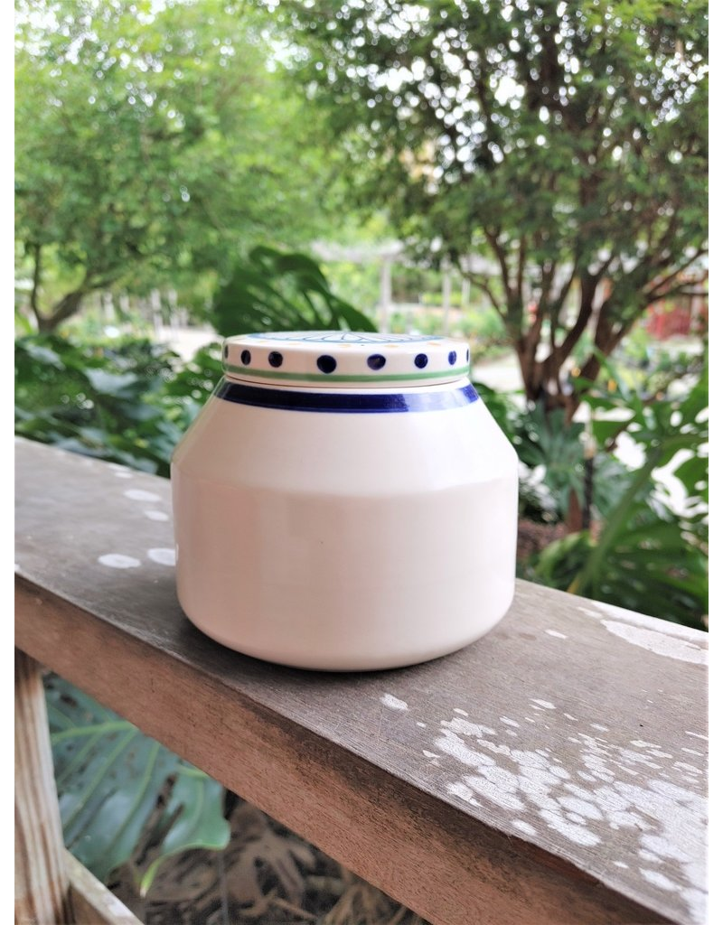 Canister - Daisy & Dots