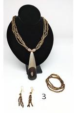 Necklace and Earring Set - Burkina Faso Beaded