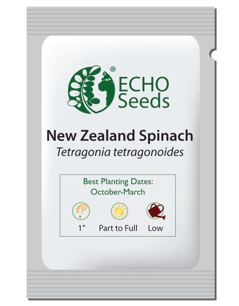ECHO Seed Bank Spinach, New Zealand