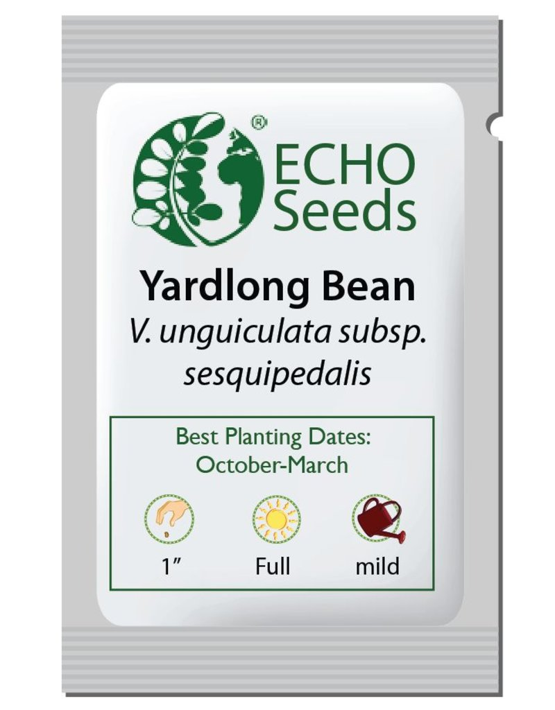 ECHO Seed Bank Bean, Yard Long