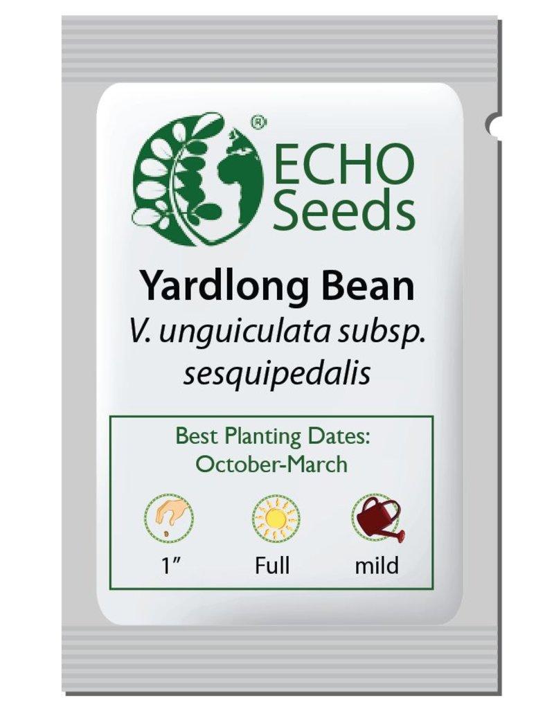 ECHO Seed Bank Bean, Yardlong