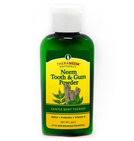 TheraNeem Neem Tooth & Gum Powder