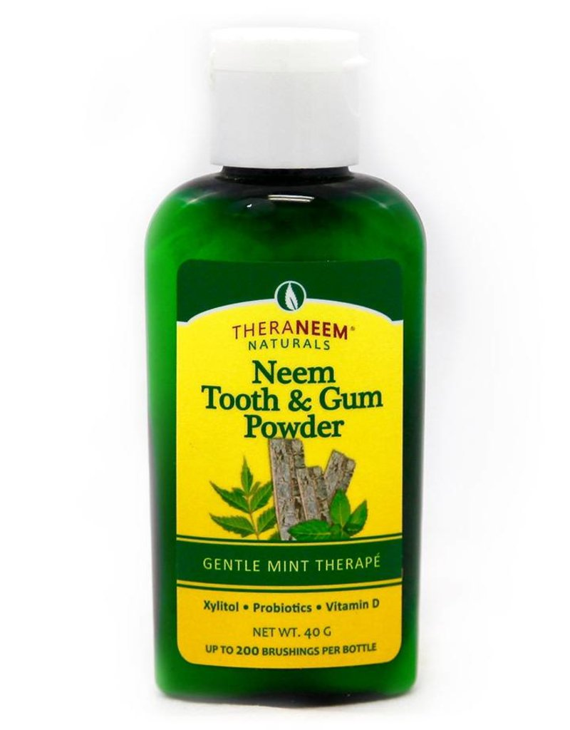 TheraNeem Neem - Mint Tooth and Gum Powder