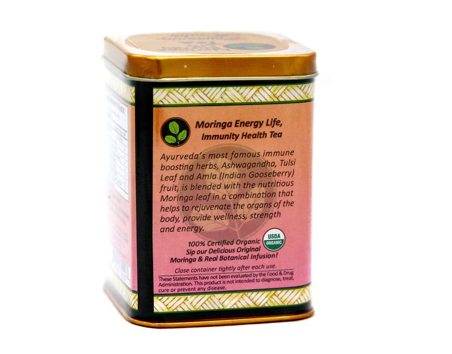 Moringa Energy Tea, Immunity Health