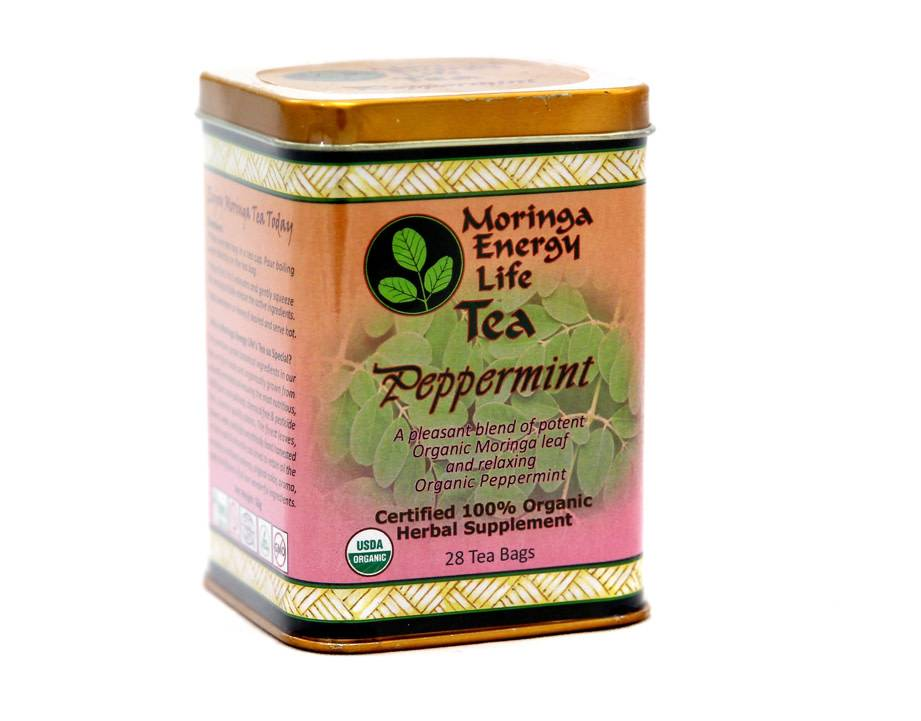 Moringa Energy Peppermint Tea