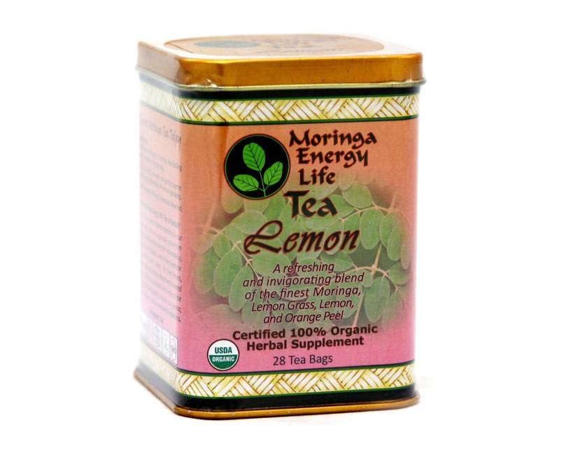 Moringa Energy Tea, Lemon