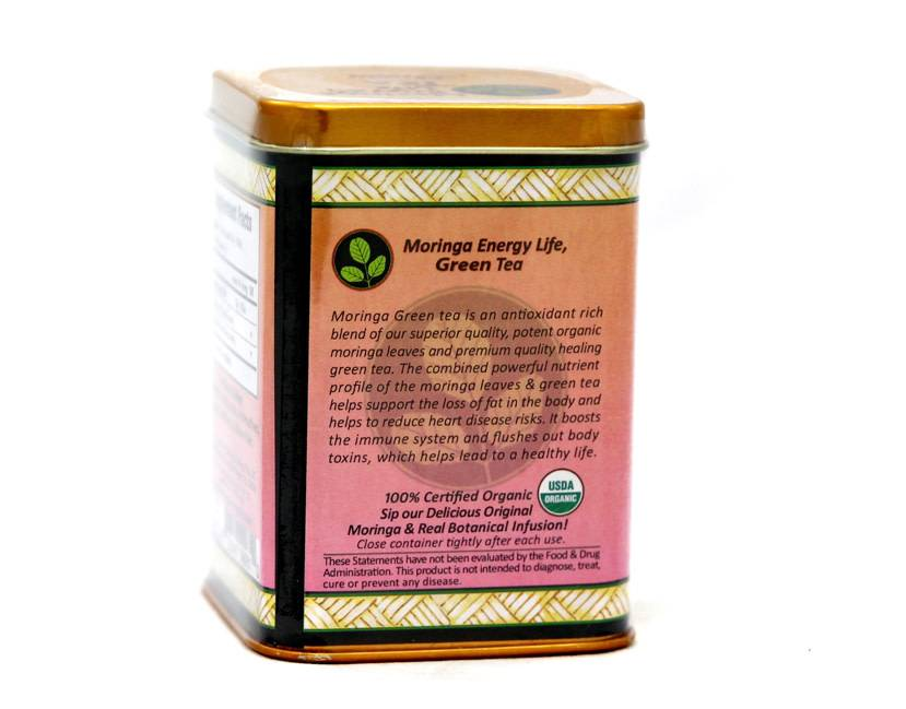Moringa Energy Tea Green Box