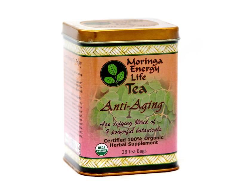 Moringa Energy Tea, Anti-Aging