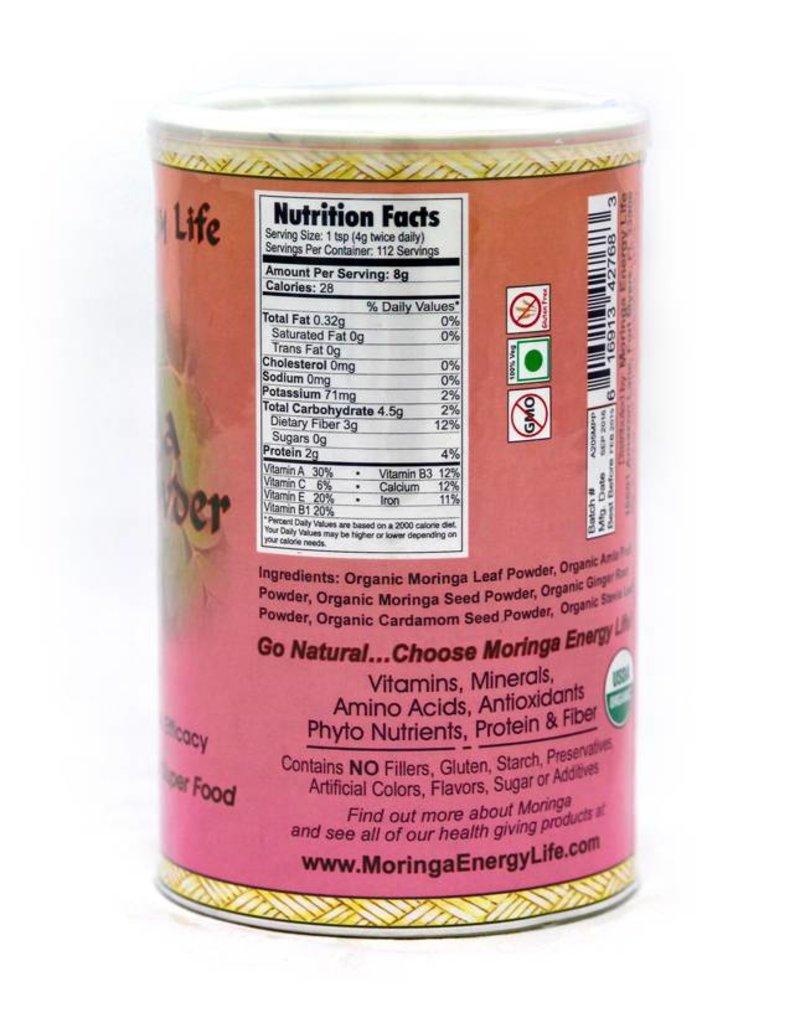 Moringa Energy Powder 1lb - Chocolate