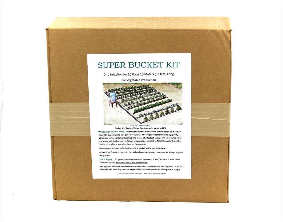 Super Bucket Kit-Drip Irrigation