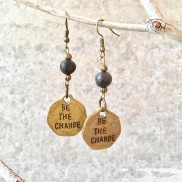 Earrings - Be The Change