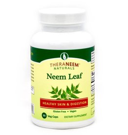 TheraNeem Capsules - Neem Leaf, 90 ct, Vegan