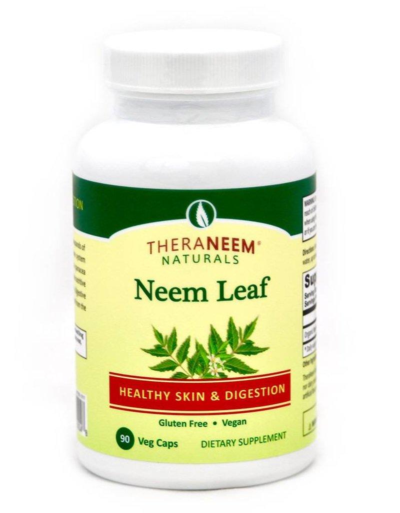 TheraNeem Capsules - Neem Leaf, 90 ct, Vegan