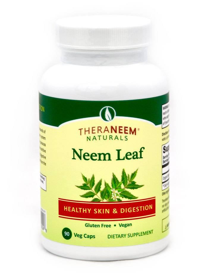 TheraNeem Neem Leaf Capsules