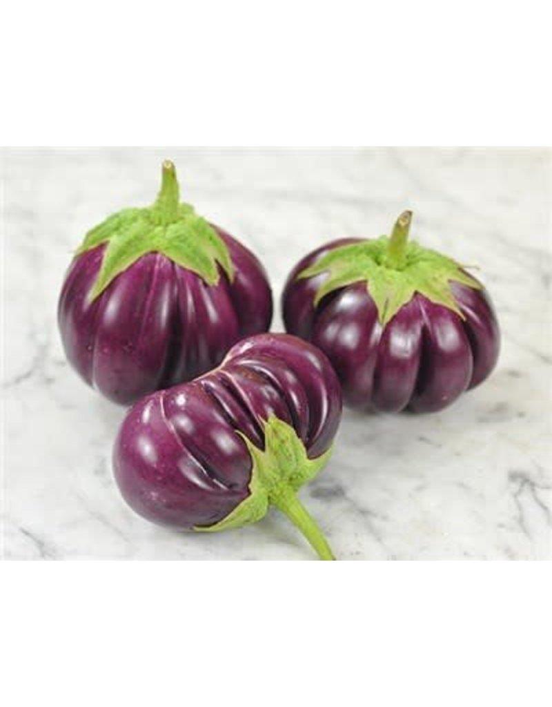Baker Creek Seeds Eggplant - Thai Purple Ribbed