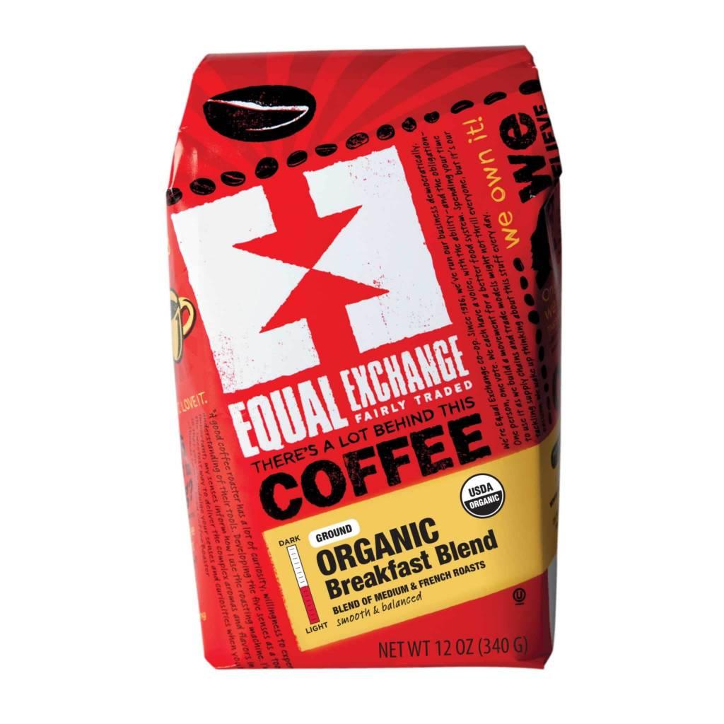 Equal Exchange Coffee - Breakfast Blend, Whole Bean