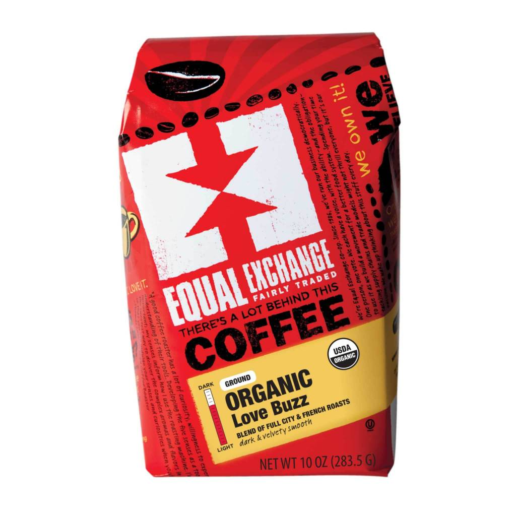 Equal Exchange Coffee - Love Buzz Ground