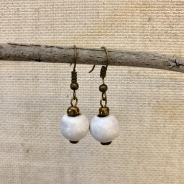 Earrings - Simple Ceramic