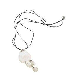 Necklace - Capiz Waterfall