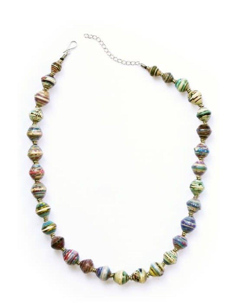 Necklace - Amani Paper