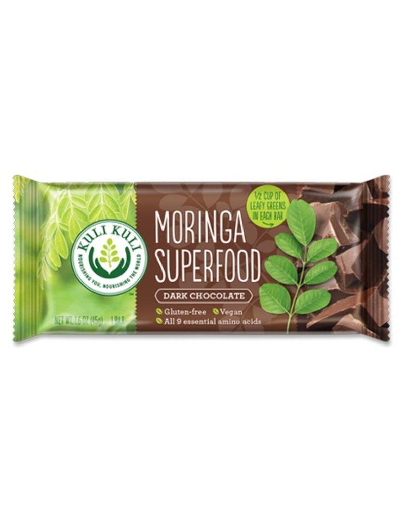 Moringa Superfood Bar, Dark Chocolate