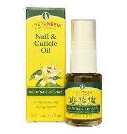 TheraNeem Neem Oil - Nail and Cuticle Therape Vegan Fragrance Free 0.5 oz