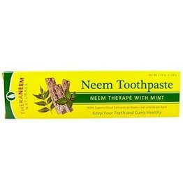 TheraNeem Toothpaste - Neem Mint, travel size