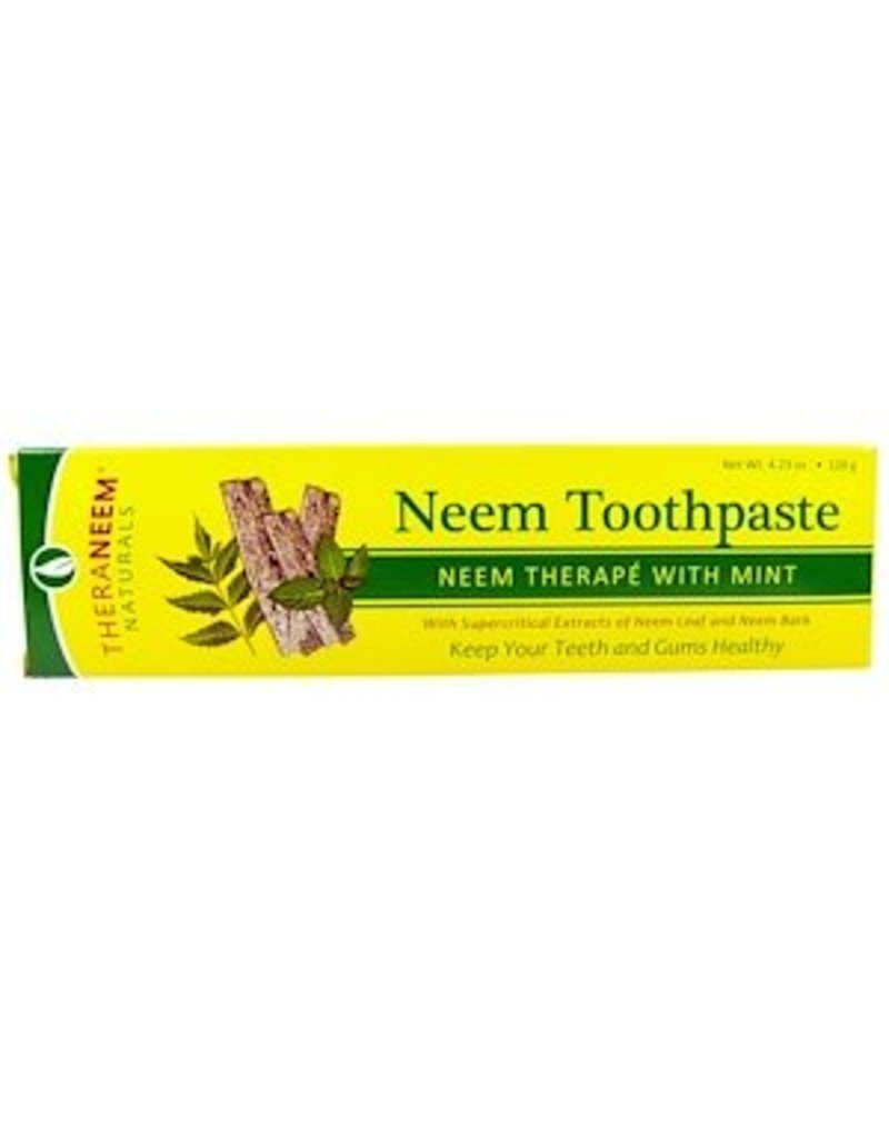 TheraNeem Toothpaste - Neem Mint, travel size