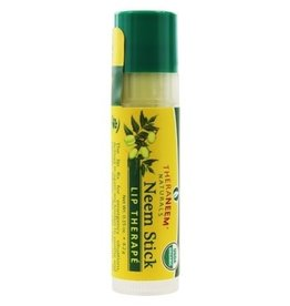 TheraNeem Lip Balm - Neem  Therape Salve, Organic Mint, Tube 0.15oz