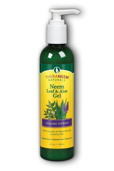 TheraNeem Neem Leaf and Aloe Gel, Lavender and Mint