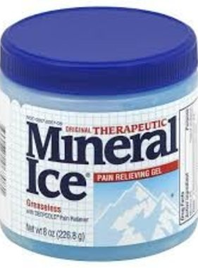 NOVARTIS MINERAL ICE- Pain relieving Gel 226.8 g