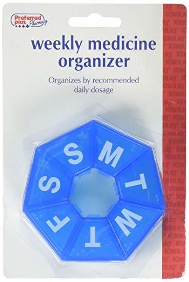 PREFERRED PLUS PHARMACY- Weekly Medicine Organizer