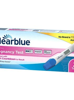 PROCTER&GAMBLE CLEARBLUE- Digital Pregnancy Test 2 Test