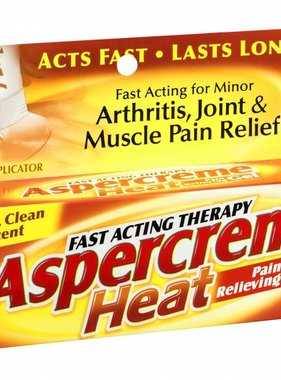 CHATTEM ASPERCREME- Fast Acting Therapy Heat Relieving Gel 70.8g.