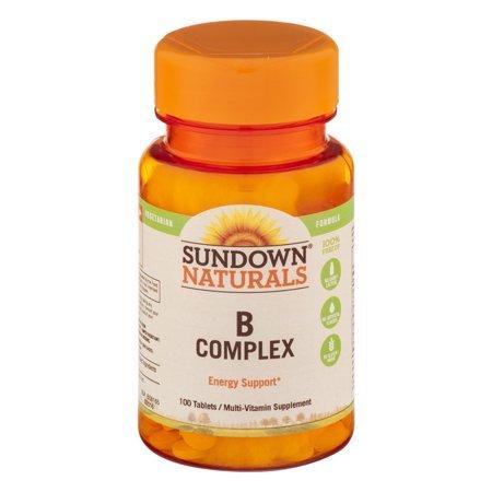 Sundown Naturals B Complex 100 Tablets