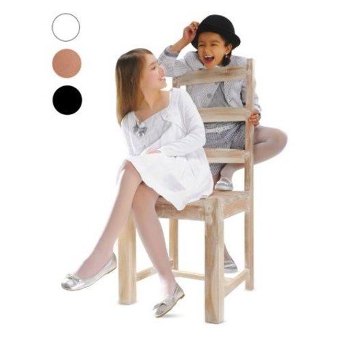 KNITEX NOQ Kids Rajstopy Dzieciece ALA Bianco/Bialy 134-140