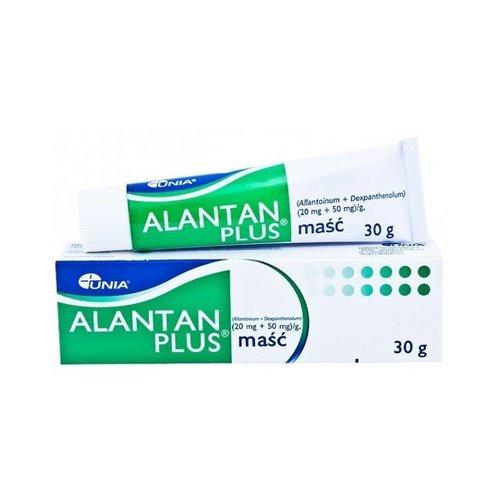 UNIA ALANTAN PLUS Masc Allantoinum 20mg/1g Dexpanthenolum 50mg/1g 30g