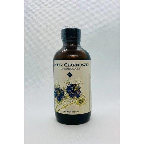 VENUS Czarnuszka Olej Black Cumin Oil Tloczony Na Zimno 110 ml