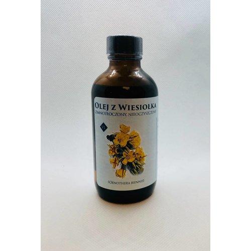 VENUS Olej z Wiesiolka Evening Primrose Oil Zimnotloczony Nieoczyszczony 110 ml