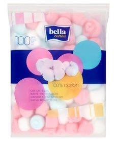 BELLA 100% Cotton  Waciki Kosmetyczne 100szt