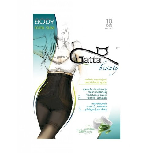GATTA Beauty Body Total Slim Rajstopy Damskie 10 DEN