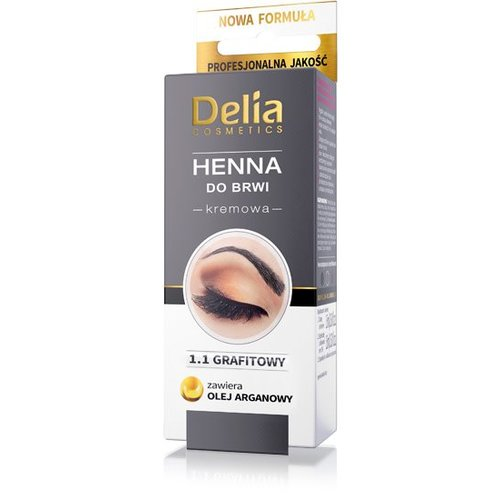 Henna Do Brwi Kremowa 1.1 Grafit 15ml