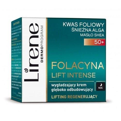 DR IRENA ERIS LIRENE- Folacyna Lift Intense 50+ Wygladzajacy Krem Gleboko Odbudowujacy Noc 50ml