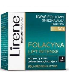 LIRENE Folacyna Lift Intense 60 + Odżywczy Krem Wygładzający Noc 50ml