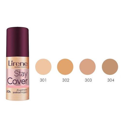DR IRENA ERIS LIRENE Fluid Stay Cover 304 Lekko Opalony 30ml