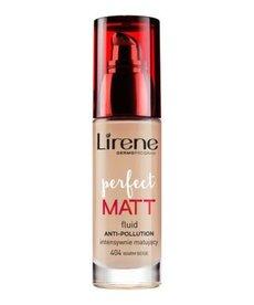 LIRENE Lirene Fluid Perfect Matt Intensywnie Matujący 404 Warm Beige 30ml