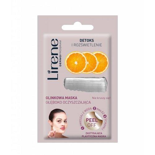 DR IRENA ERIS LIRENE- Detoks i Rozswietlenie Maska Peel Off Glinkowa Maska Gleboko Oczyszczajaca 10g
